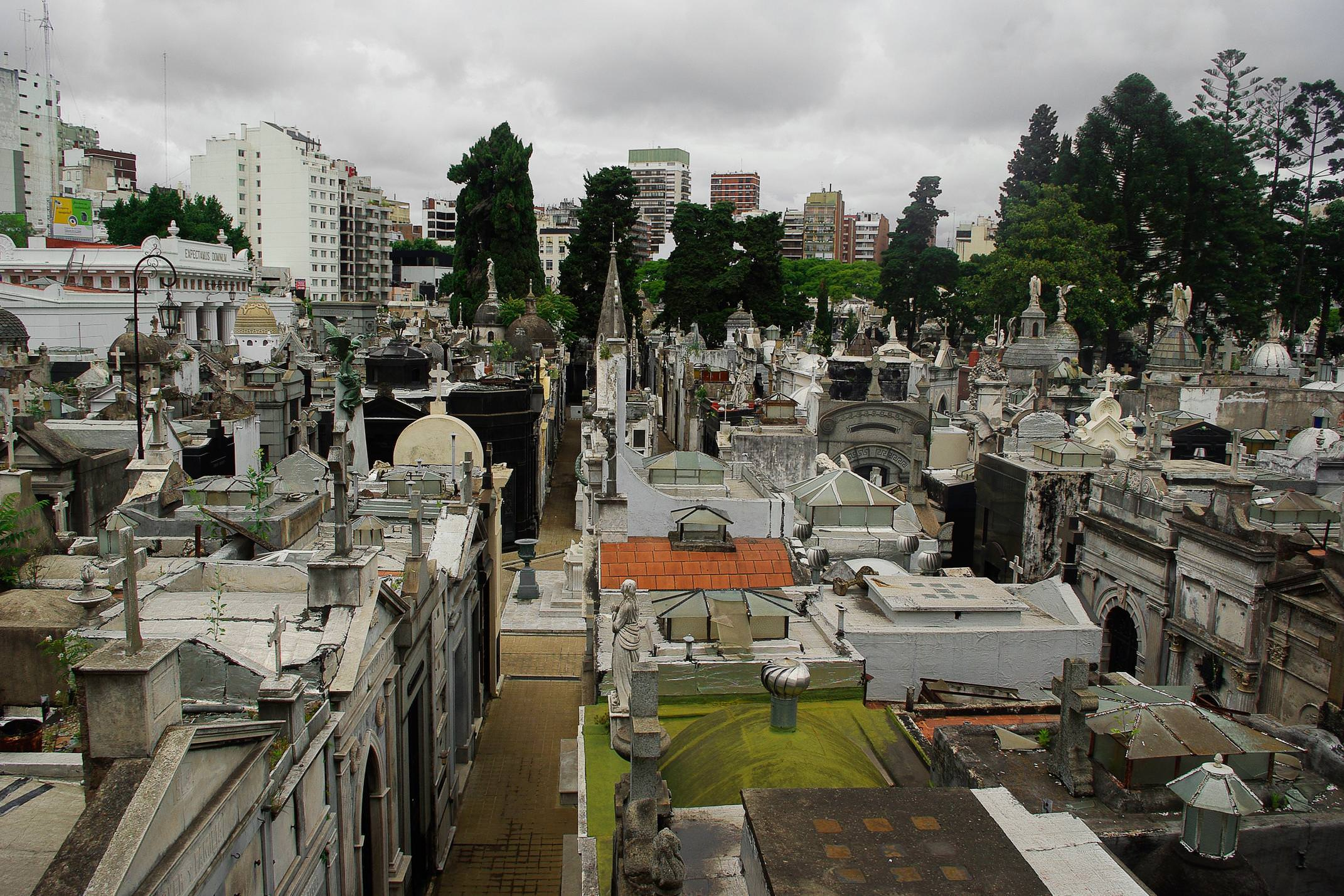 Argentina buenos aires recoleta cemetery chris bladon