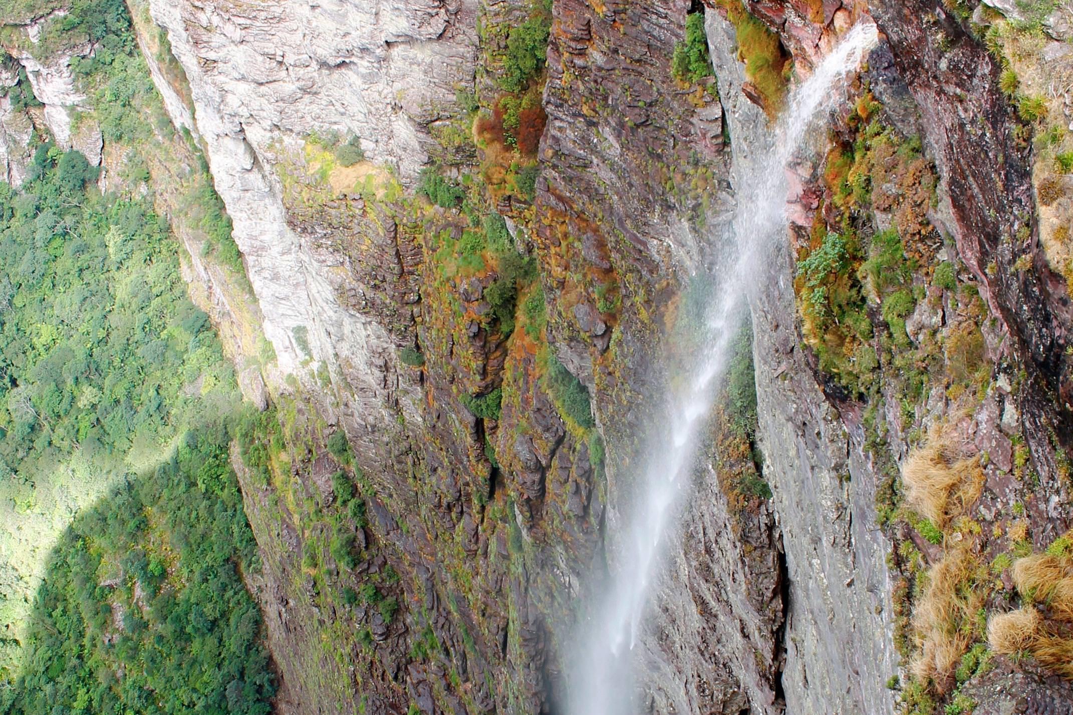 Brazil chapada diamantina fumaca waterfall ivan barreto