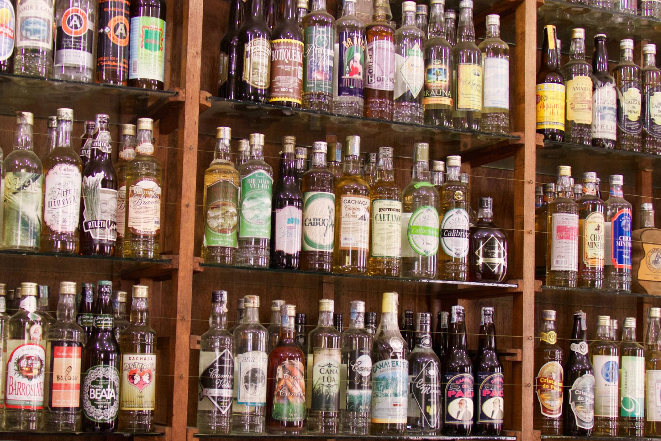 Brazil paraty cachaca bottles copyright pura aventura thomas power