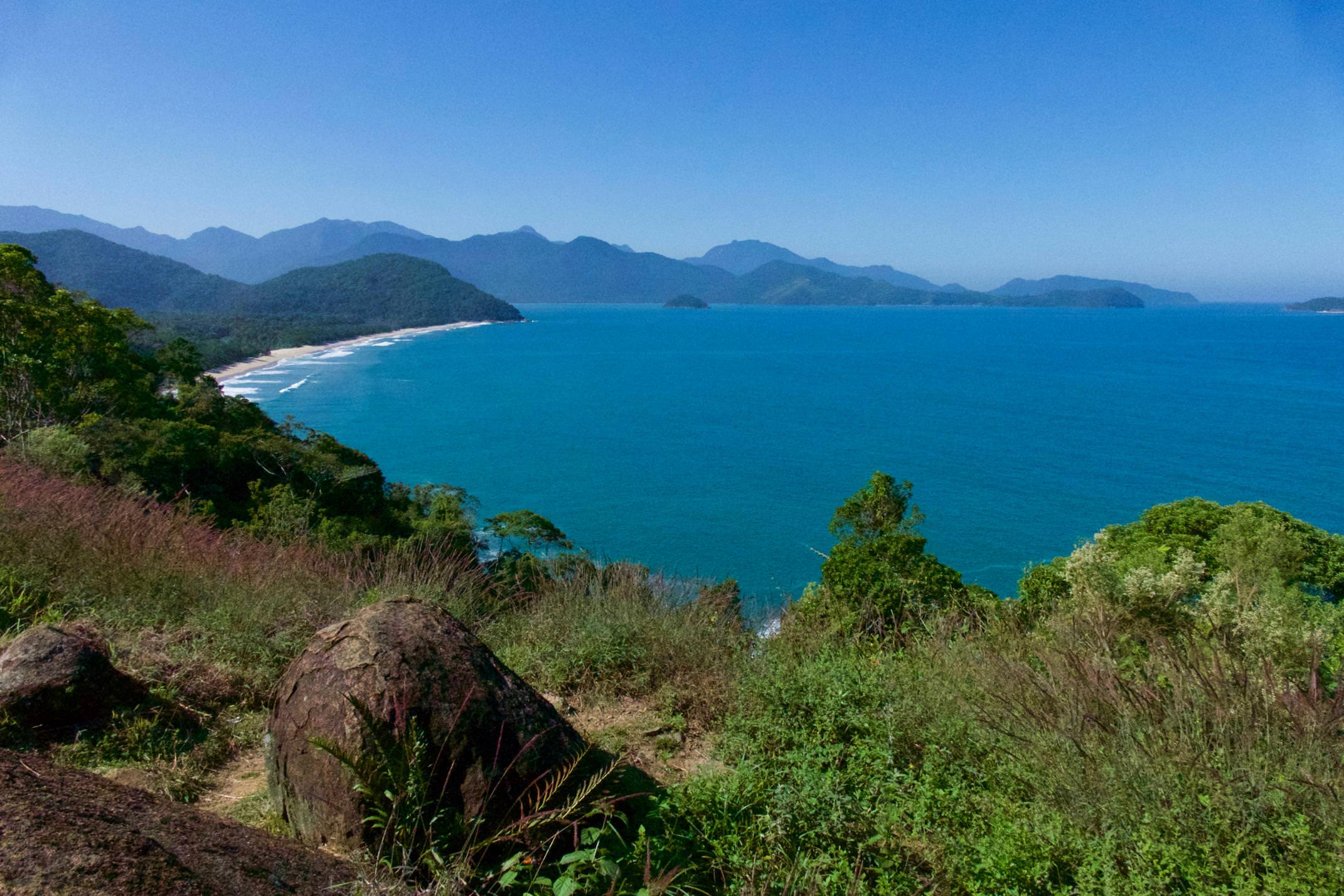 Brazil paraty views of costa verde from ubatuba copyright pura aventura thomas power