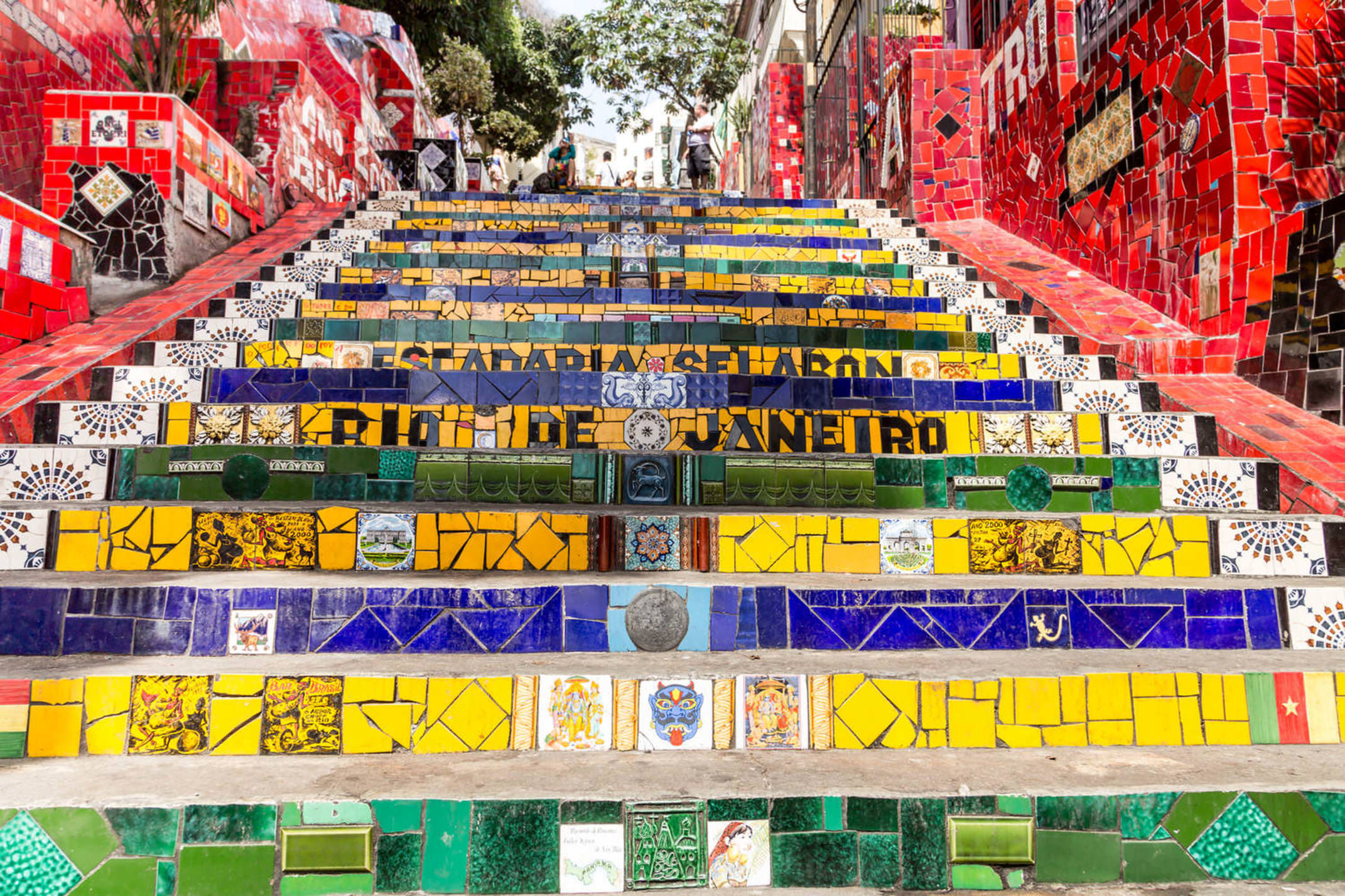Brazil rio de janeiro escadaria selaron rio de janeiro brazil