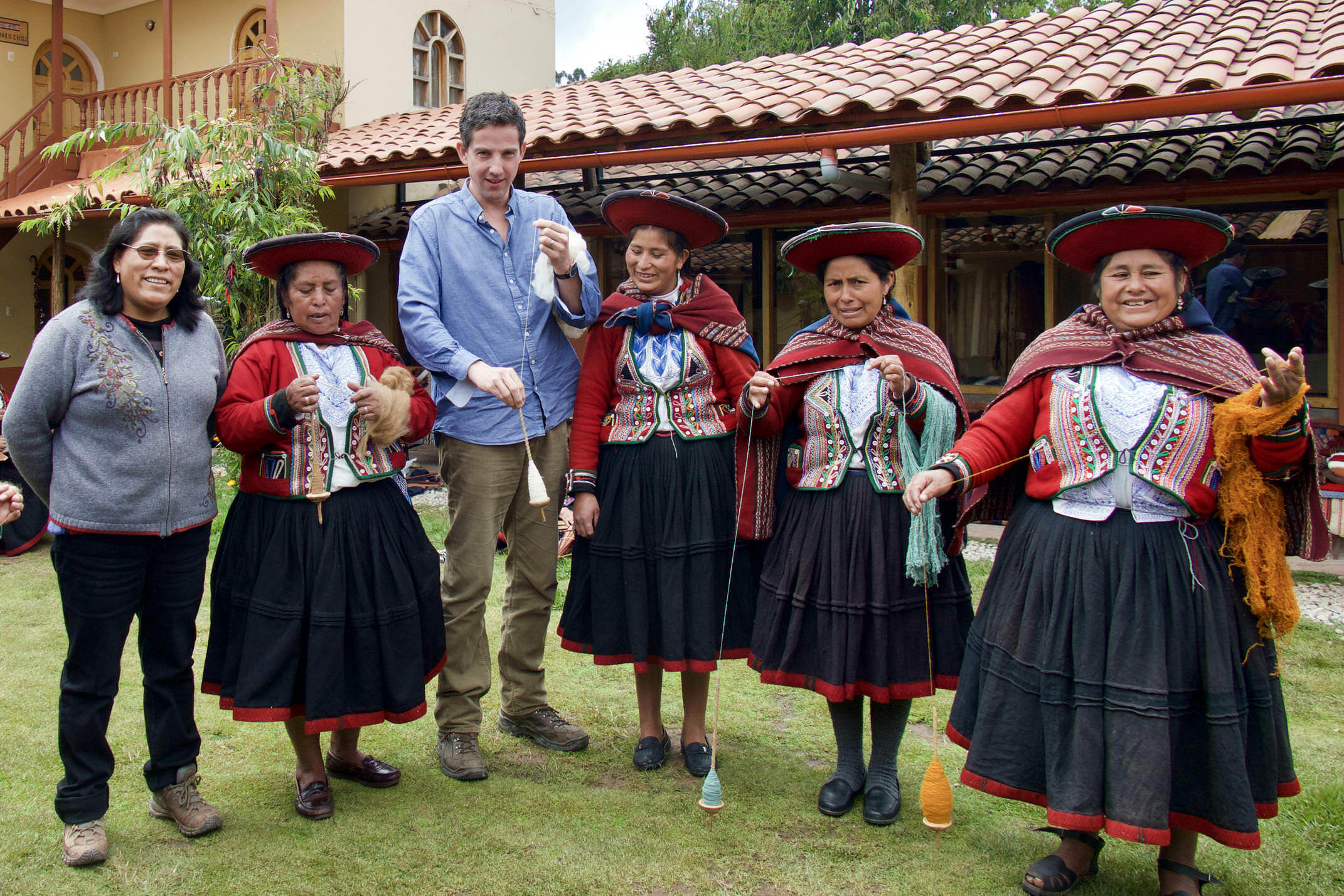 Weaving co-operative, Sacred Valley