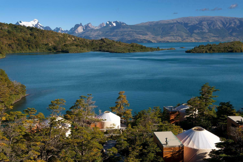 Chile patagonia torres del paine patagonia camp yurts and lake