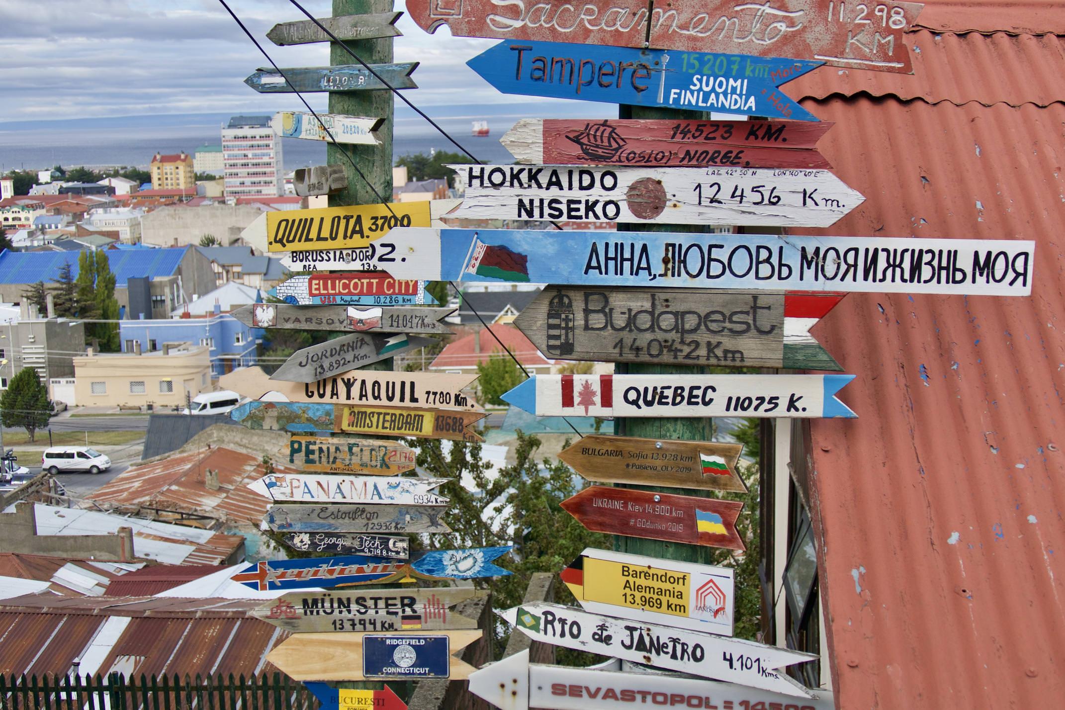 Chile punta arenas signs c pura aventura thomas power P1320589