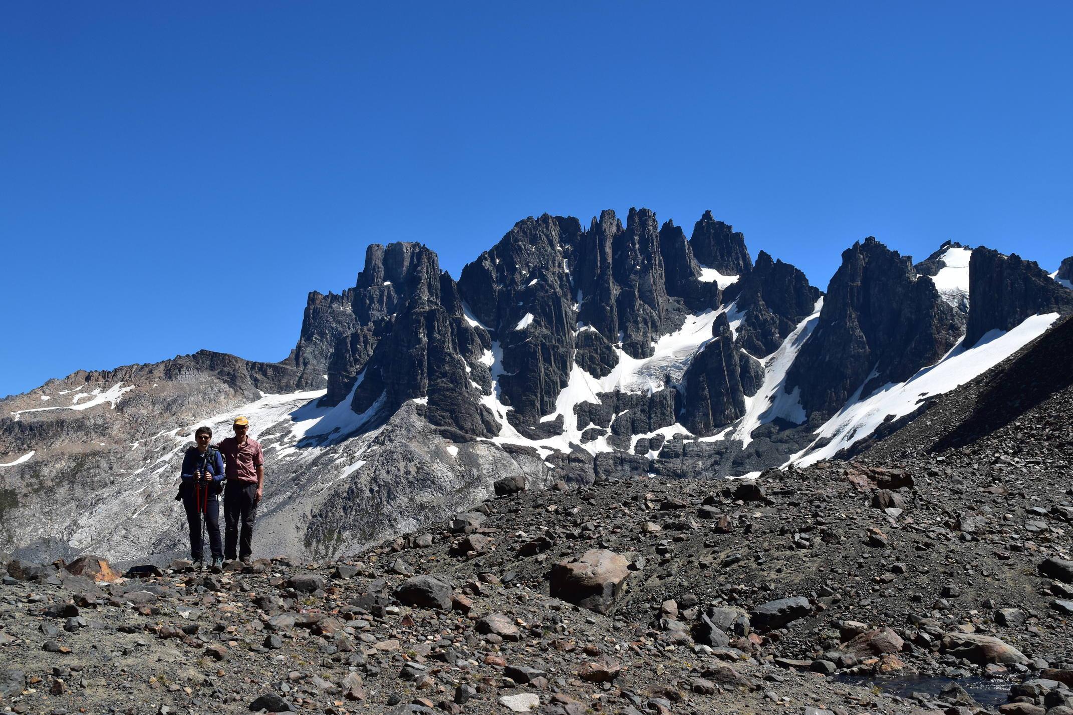 Chile carretera cerro castill hike copyright john main