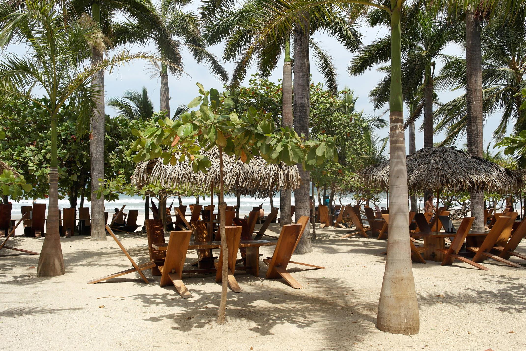 Costa rica nicoya peninsula avellanas beach lolas beach shack