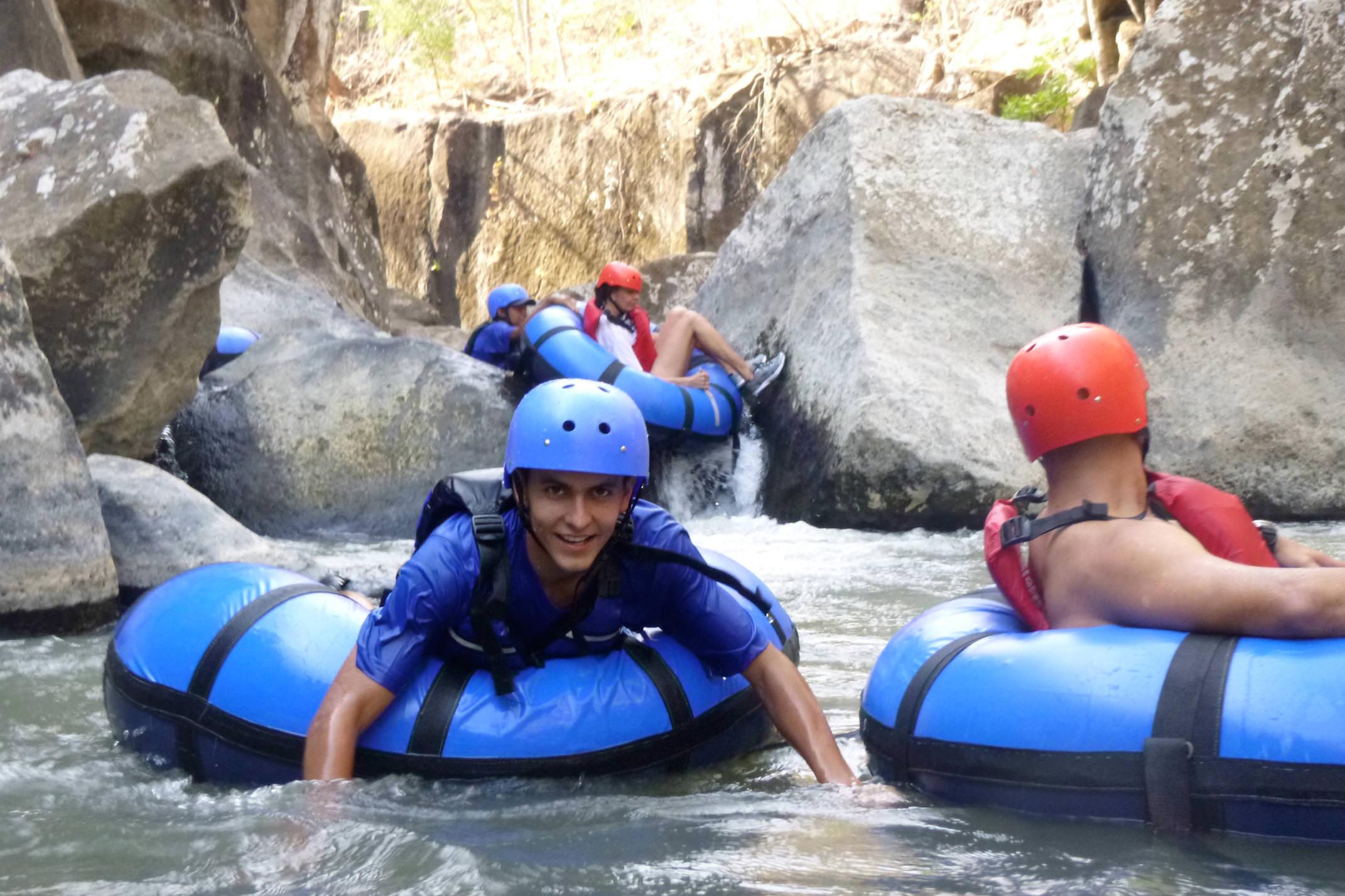 Costa rica tenorio rio perdido tubing group on rio blanco