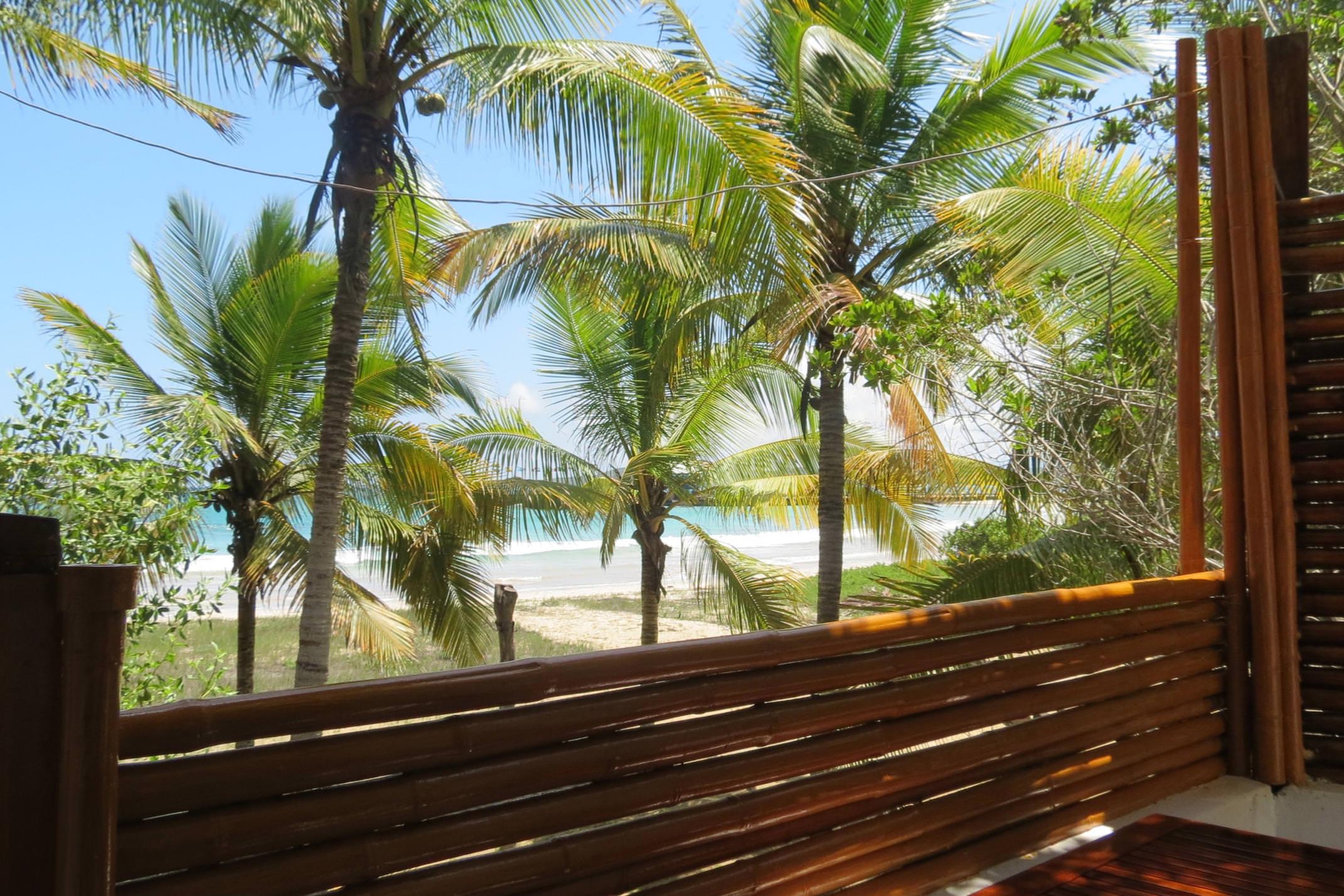 Ecuador galapagos islands isabela casa marita hotel balcony