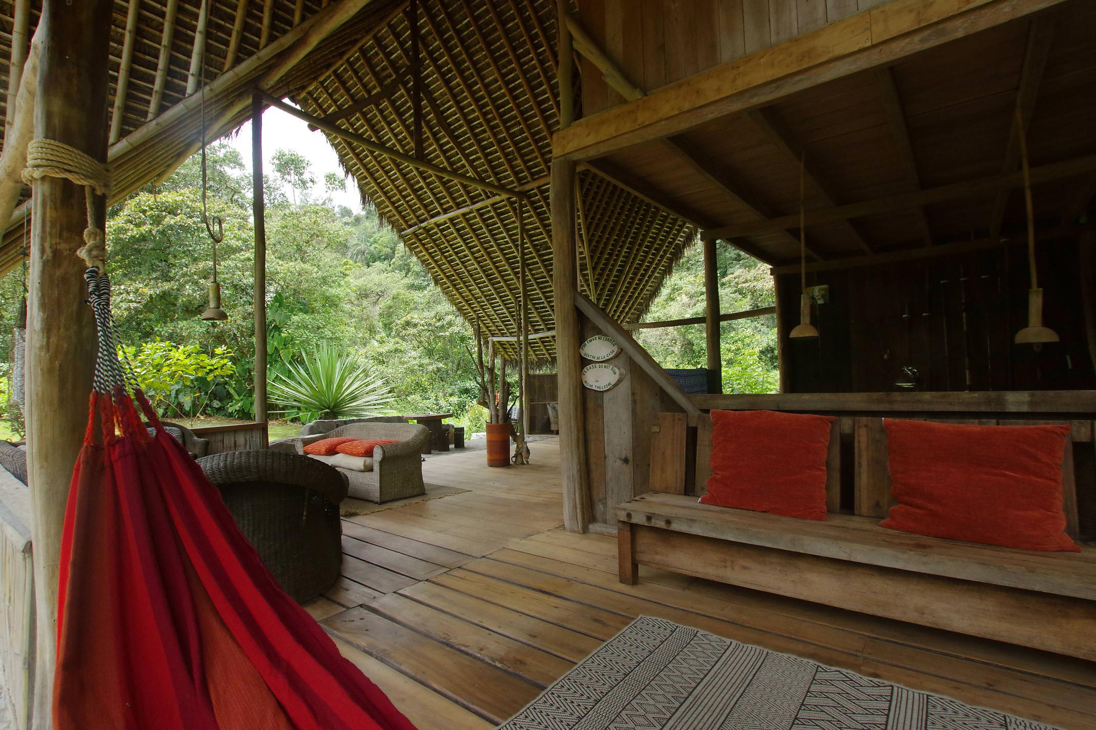 Ecuador mindo el monte lounge