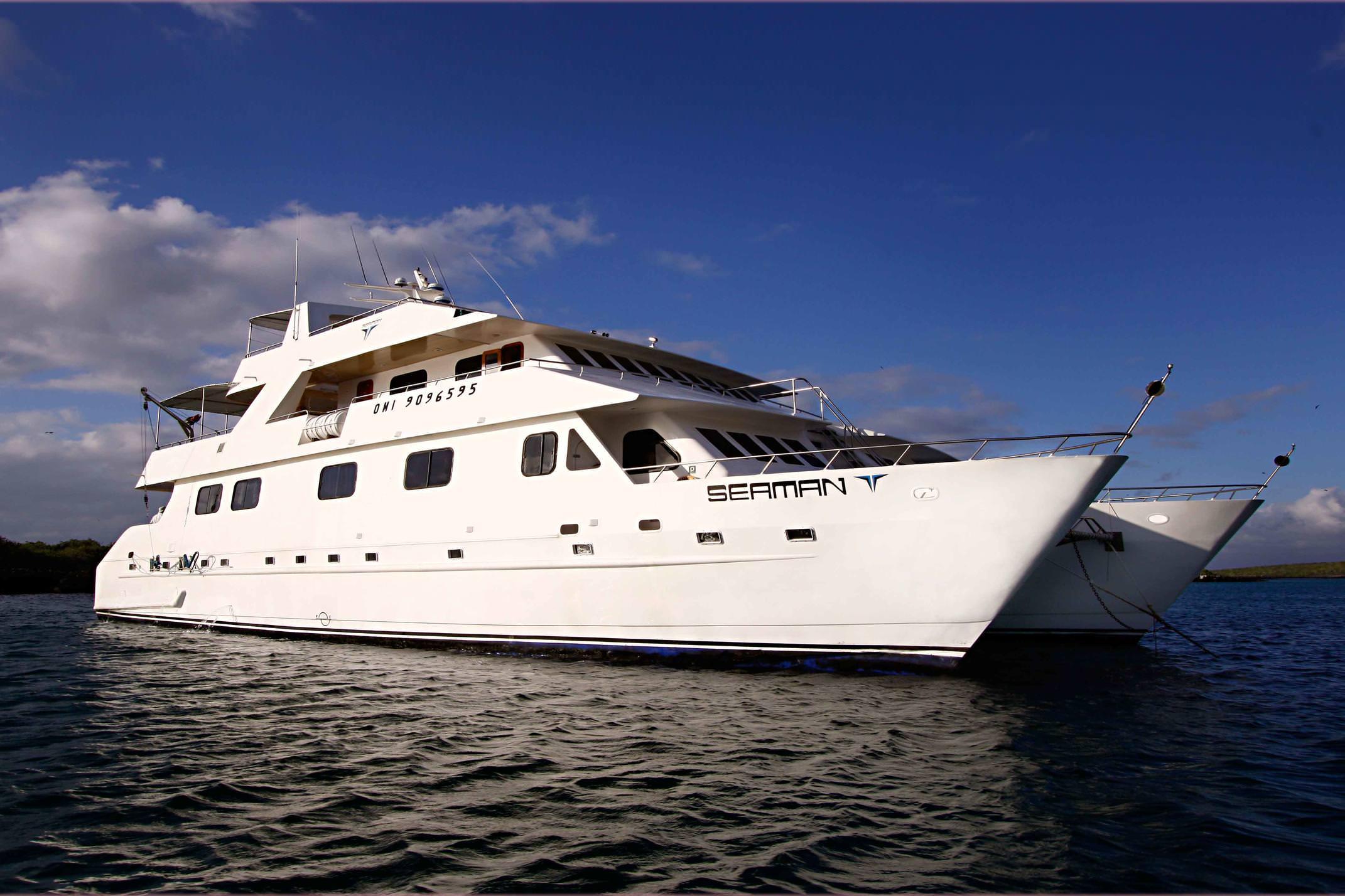 Galapagos seaman journey exterior