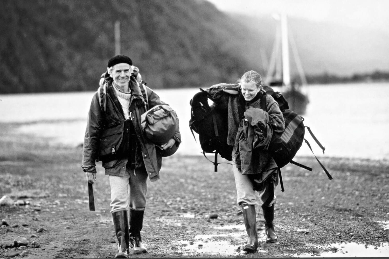 Douglas & Kristine Tompkinks, photo courtesy of Tompkins Conservation