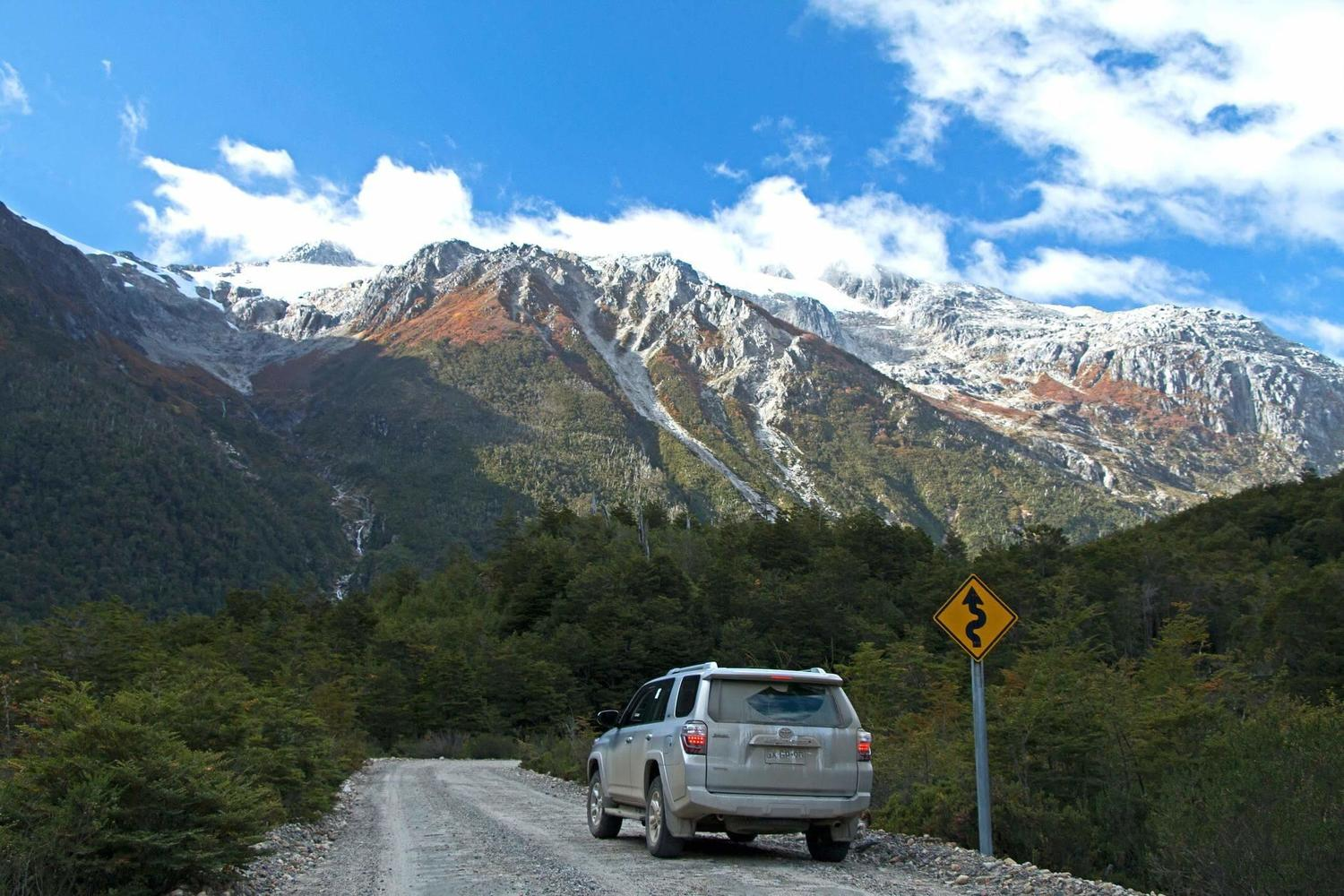 Driving along the Carretera Austral