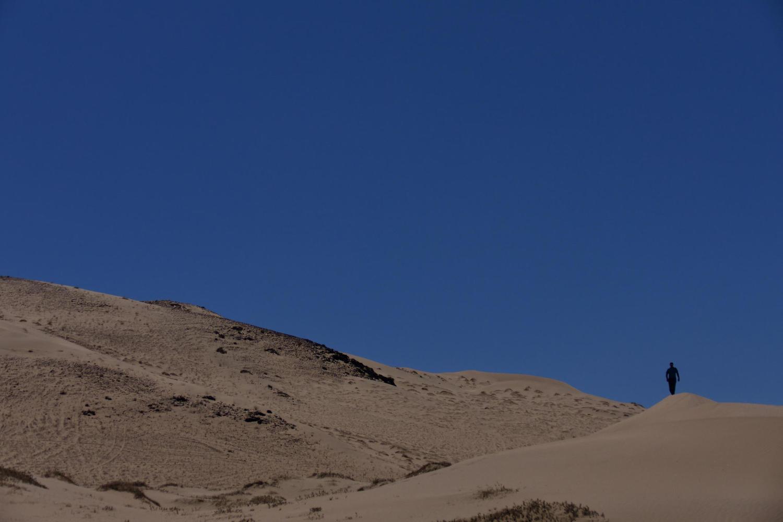 Walking in the Sea of Dunes