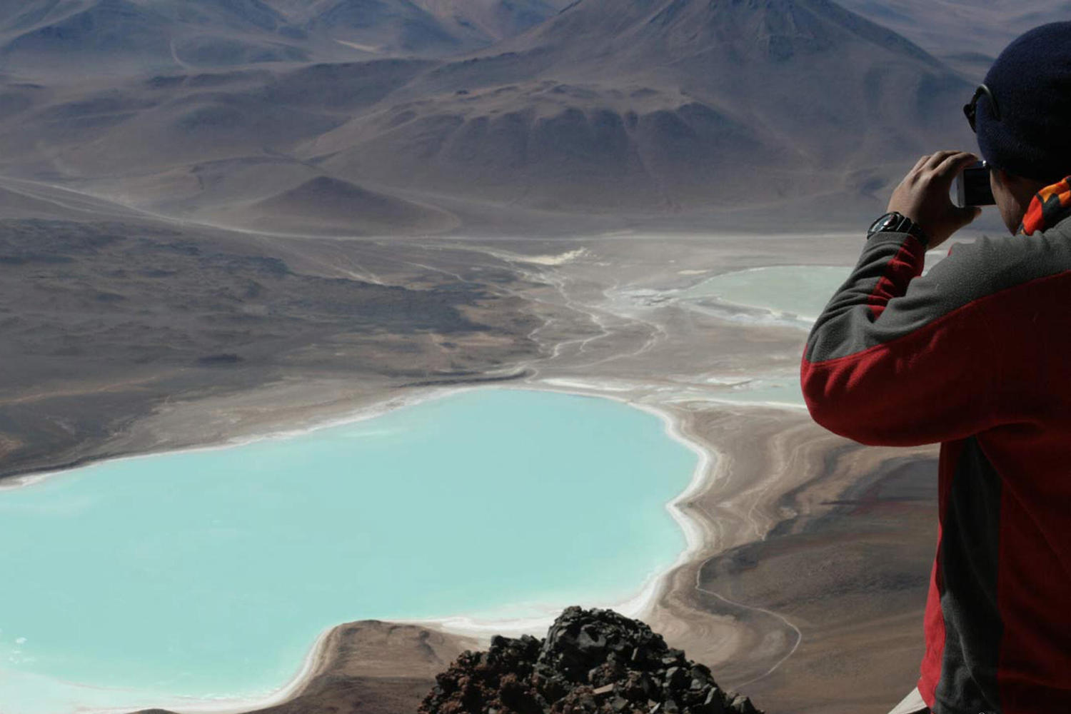 View from Toco Volcano in the Atacama