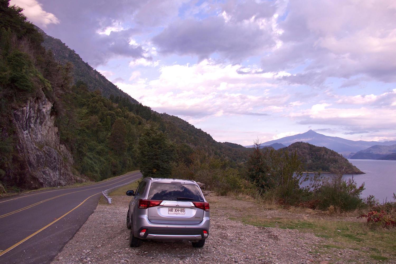 The beautiful drive along Lago Panguipulli to Huilo Huilo