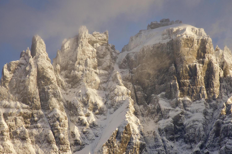 Morning light on Cerro Castillo National Park