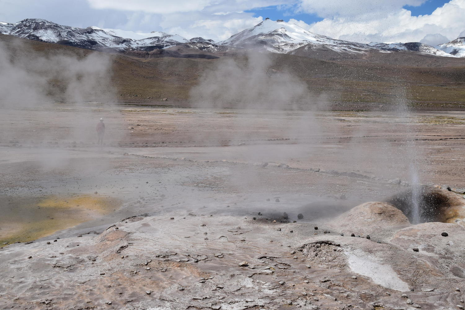Experiencing the Atacama's Tatio Geysers in near solitude