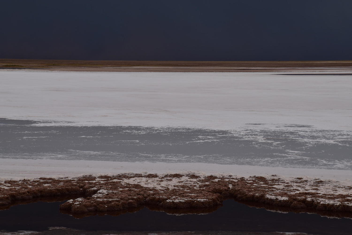 A moody shot of the Atacama Salt Flat in northern Chile