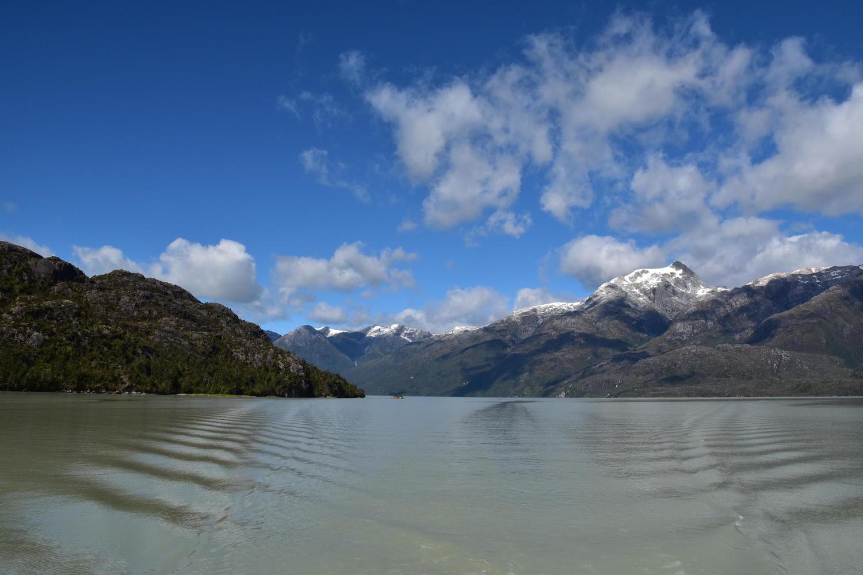 Boat trip to the remote Steffen Glacier