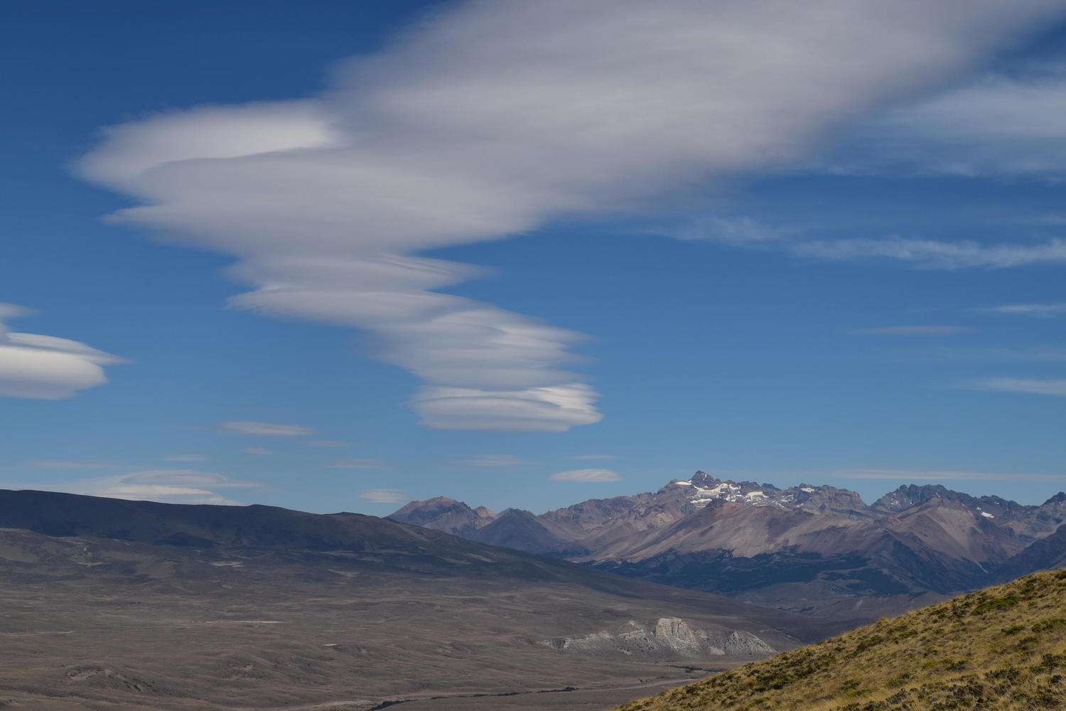 Epic Patagonian clouds at the Jeinimeni reserve
