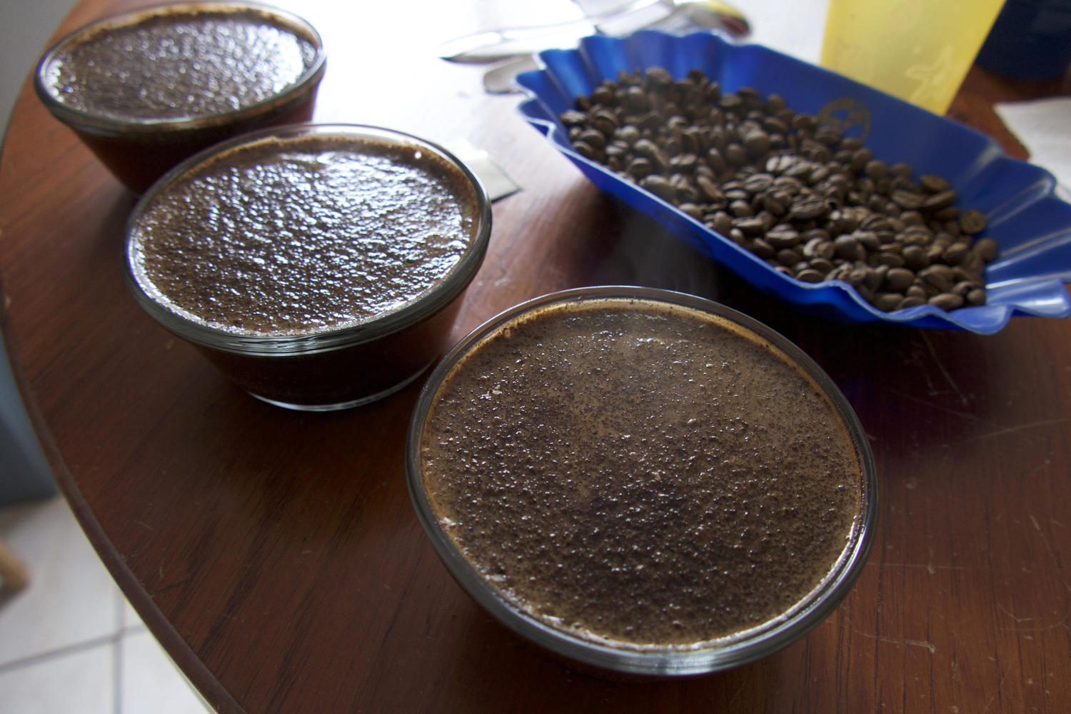 coffee tasting in Costa Rica