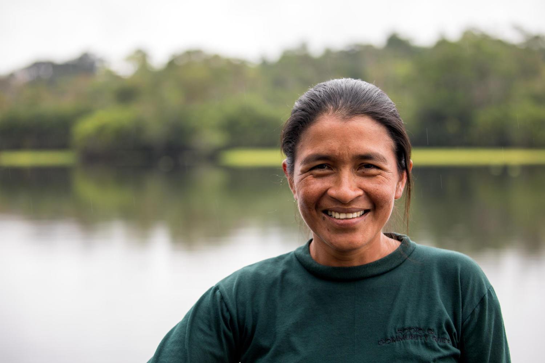 Rocio Marlene - indigenous guide, leader