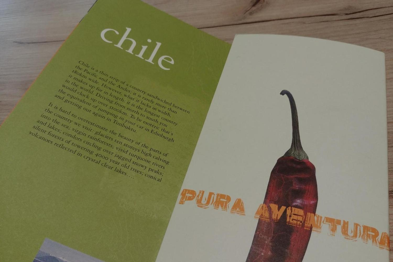 The first ever Pura Aventura brochure