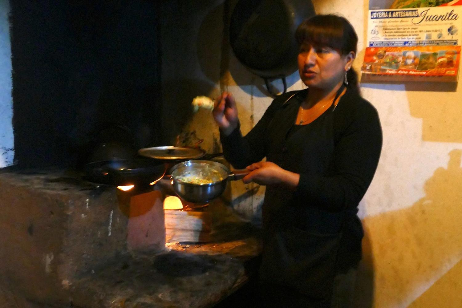 Cooking with Emma in the Sacred Valley