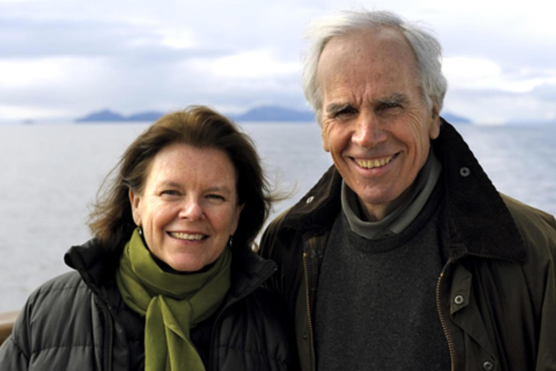 Doug & Kristine Tompkinks, photo courtesy of Tompkins Conservation