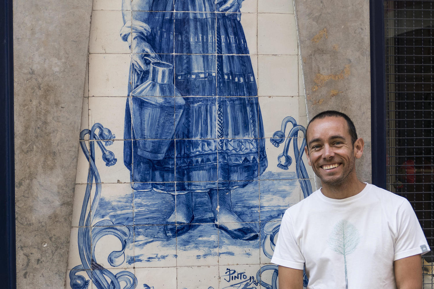 Luis Soares, our all terrain guide in Portugal