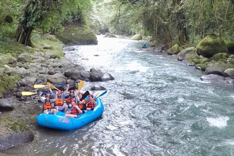 Family rafting river Turrialba Costa Rica