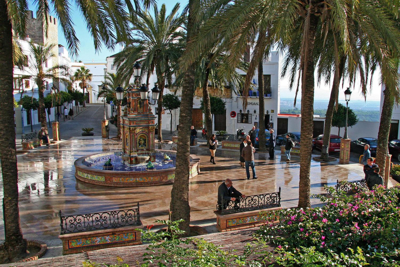 vejer's village square