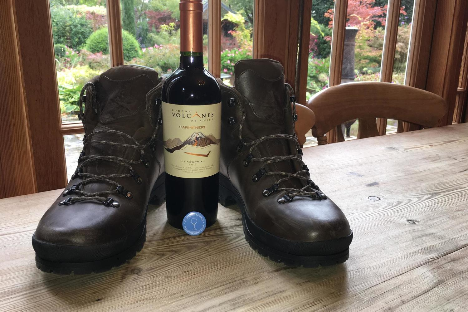 The walking boots are readied for our VIP Basque Rioja inn to inn