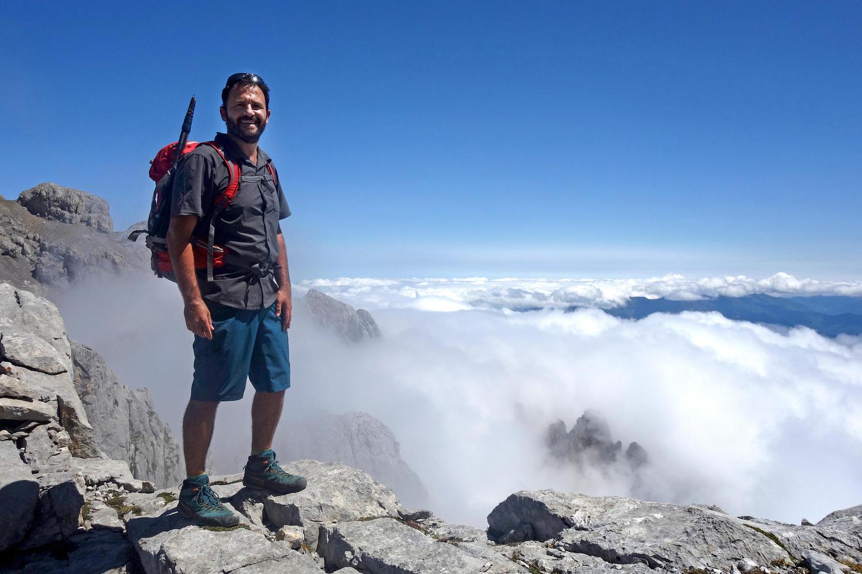 Diego on the Picos de Europa