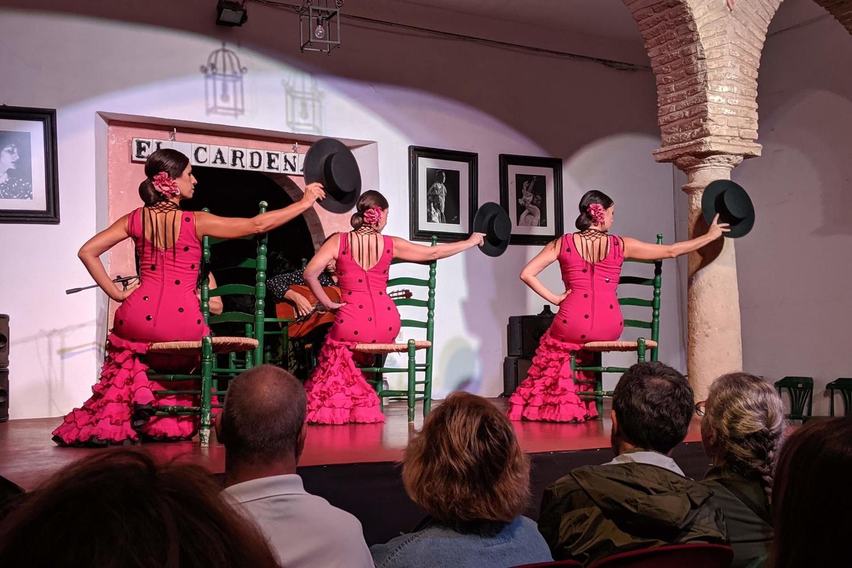 Tablao El Cardenal flamenco show in Cordoba