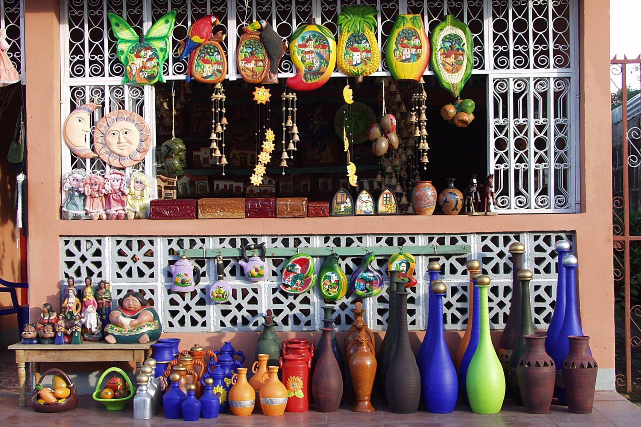 Nicaragua copyright jan strik artesanias catarina shop