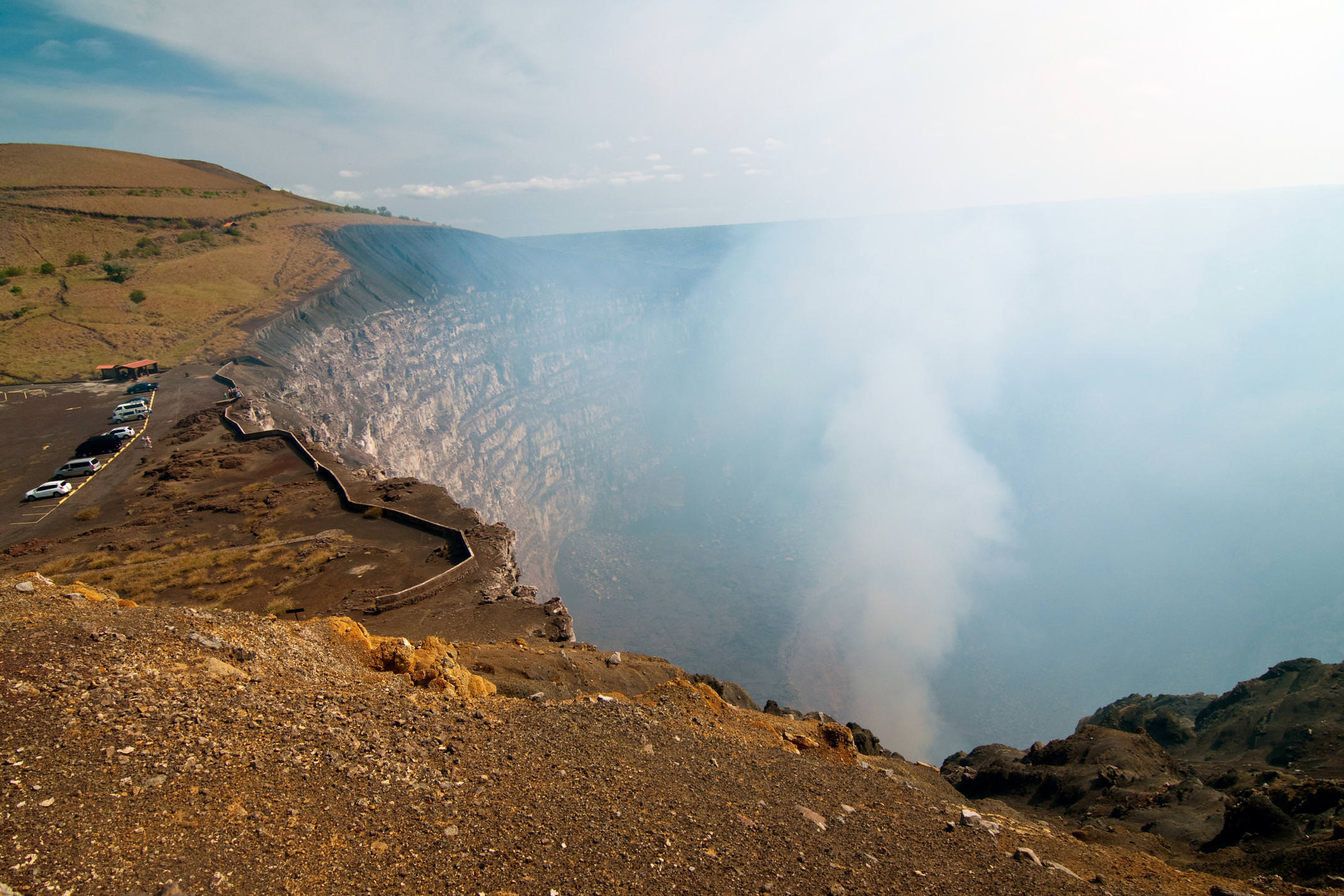 Nicaragua granada masaya volcano steam c sergey suhanov