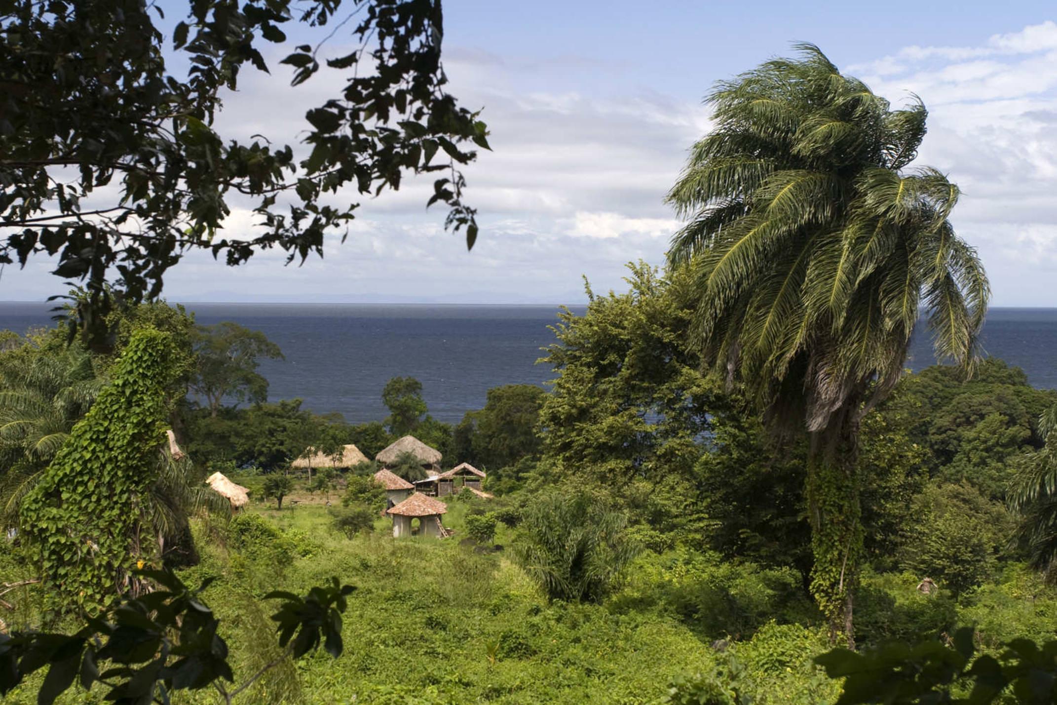 Nicaragua ometepe settlement on isla ometepe in nicaragua