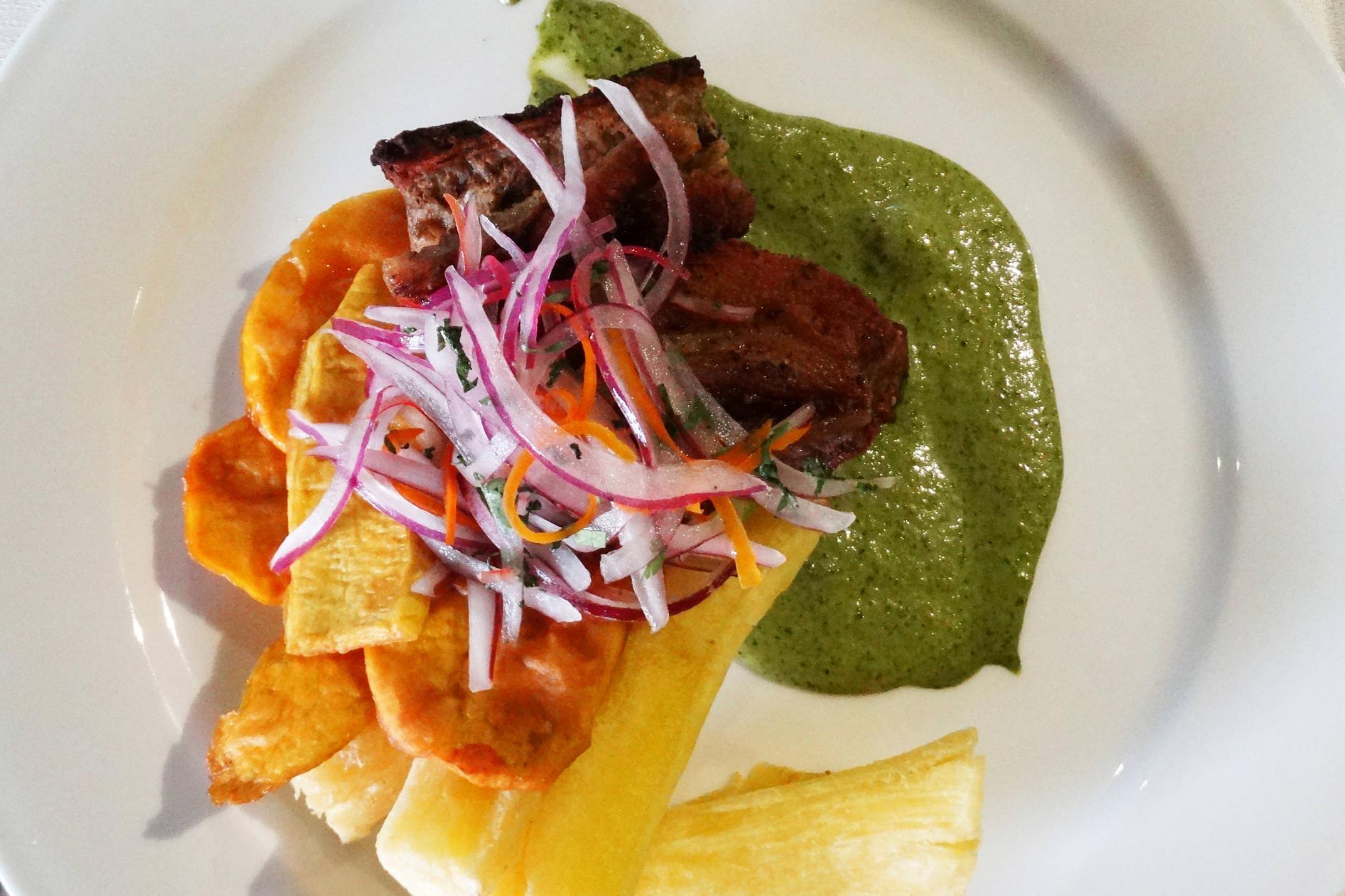 Peru lima food chicharron 4