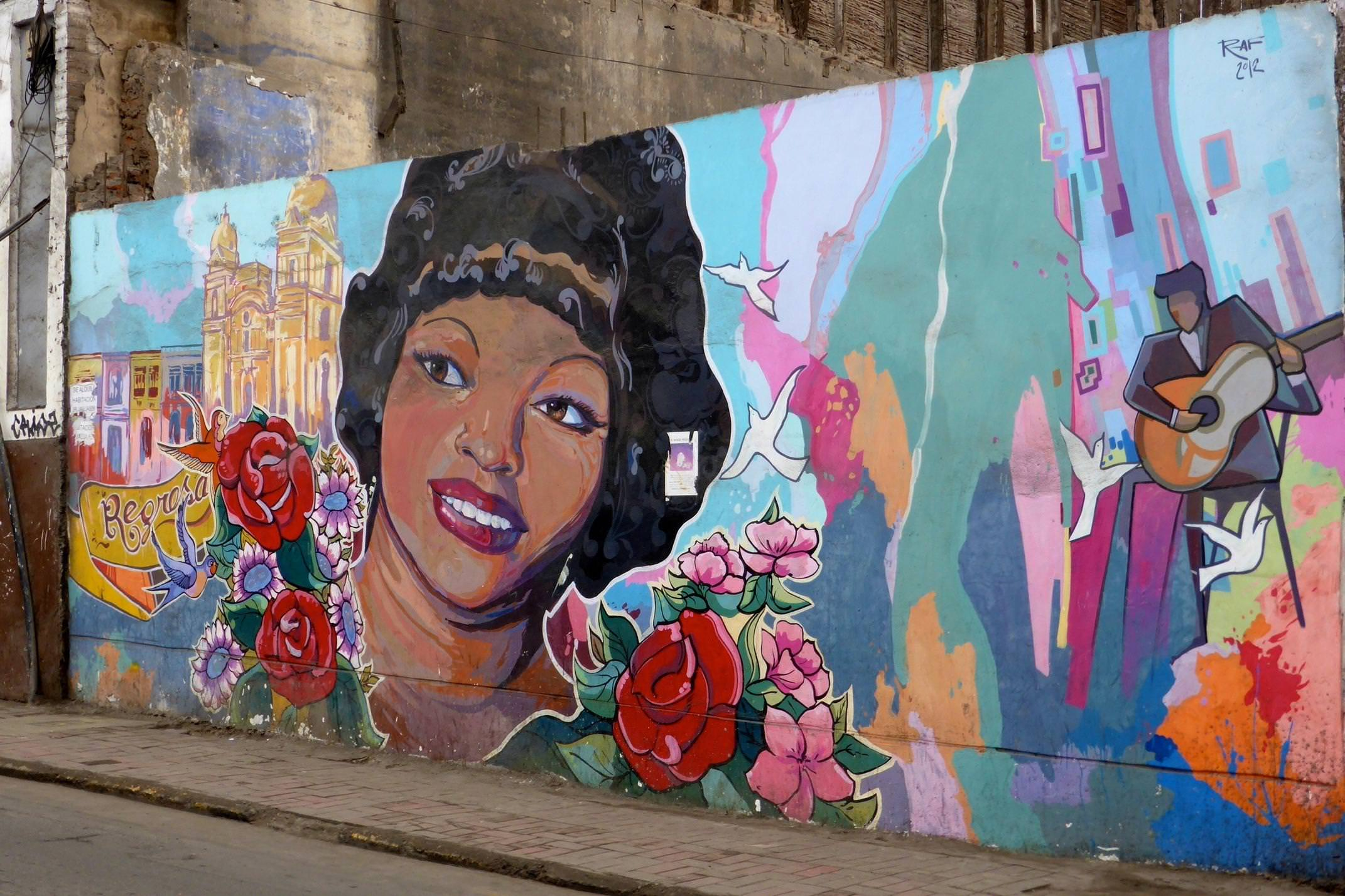 Peru lima street mural