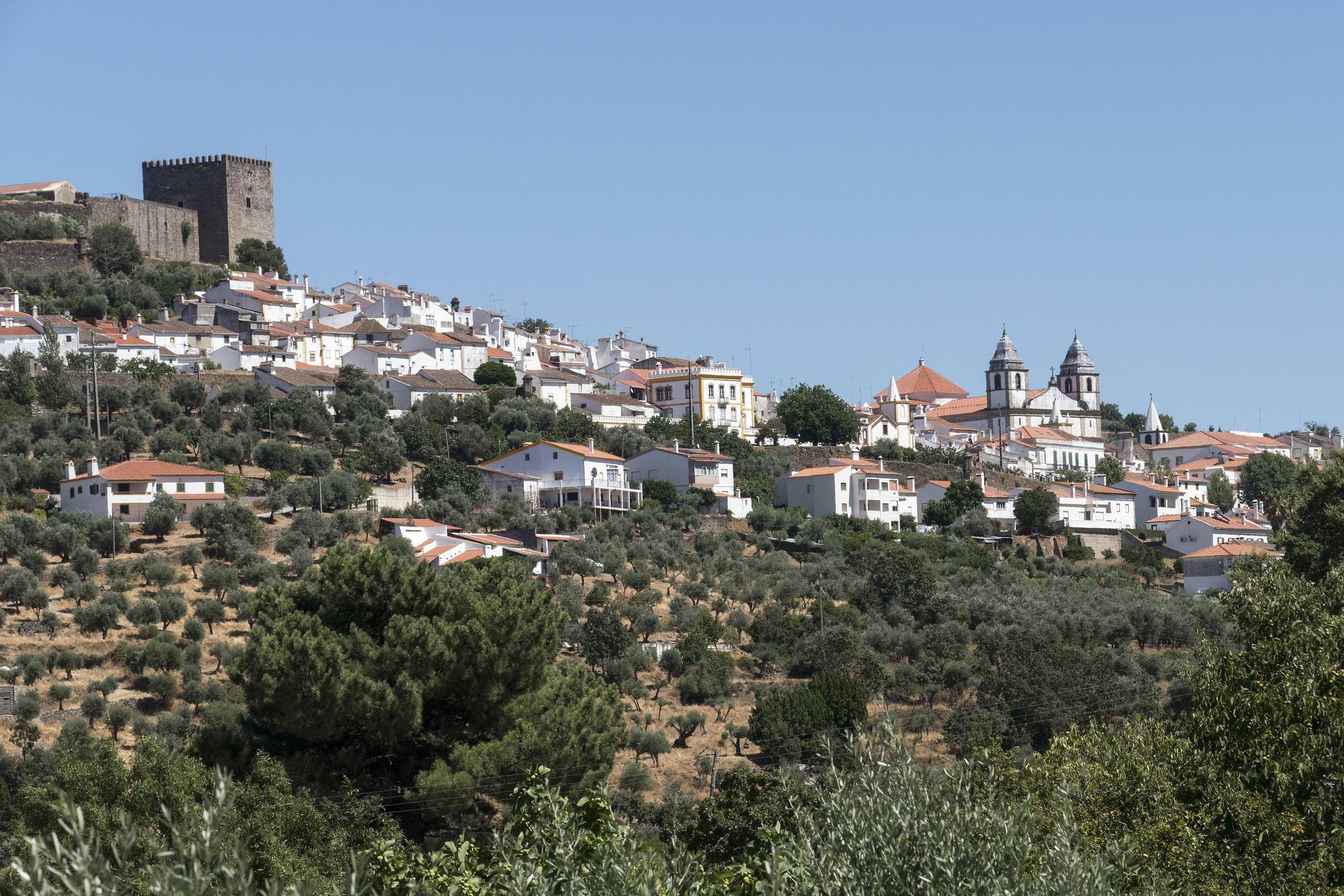 Portugal alentejo castelodavide view