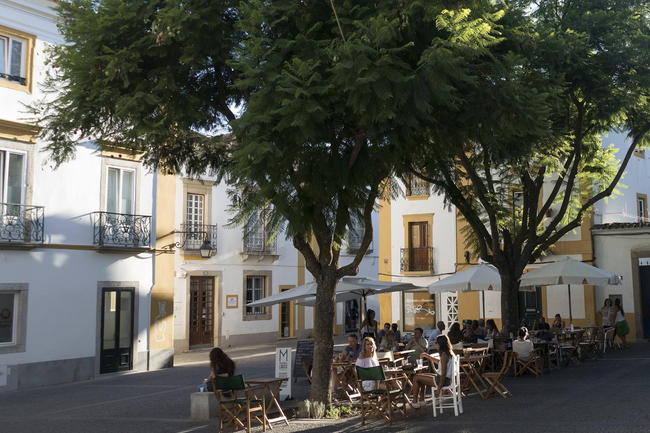 Portugal alentejo evora square