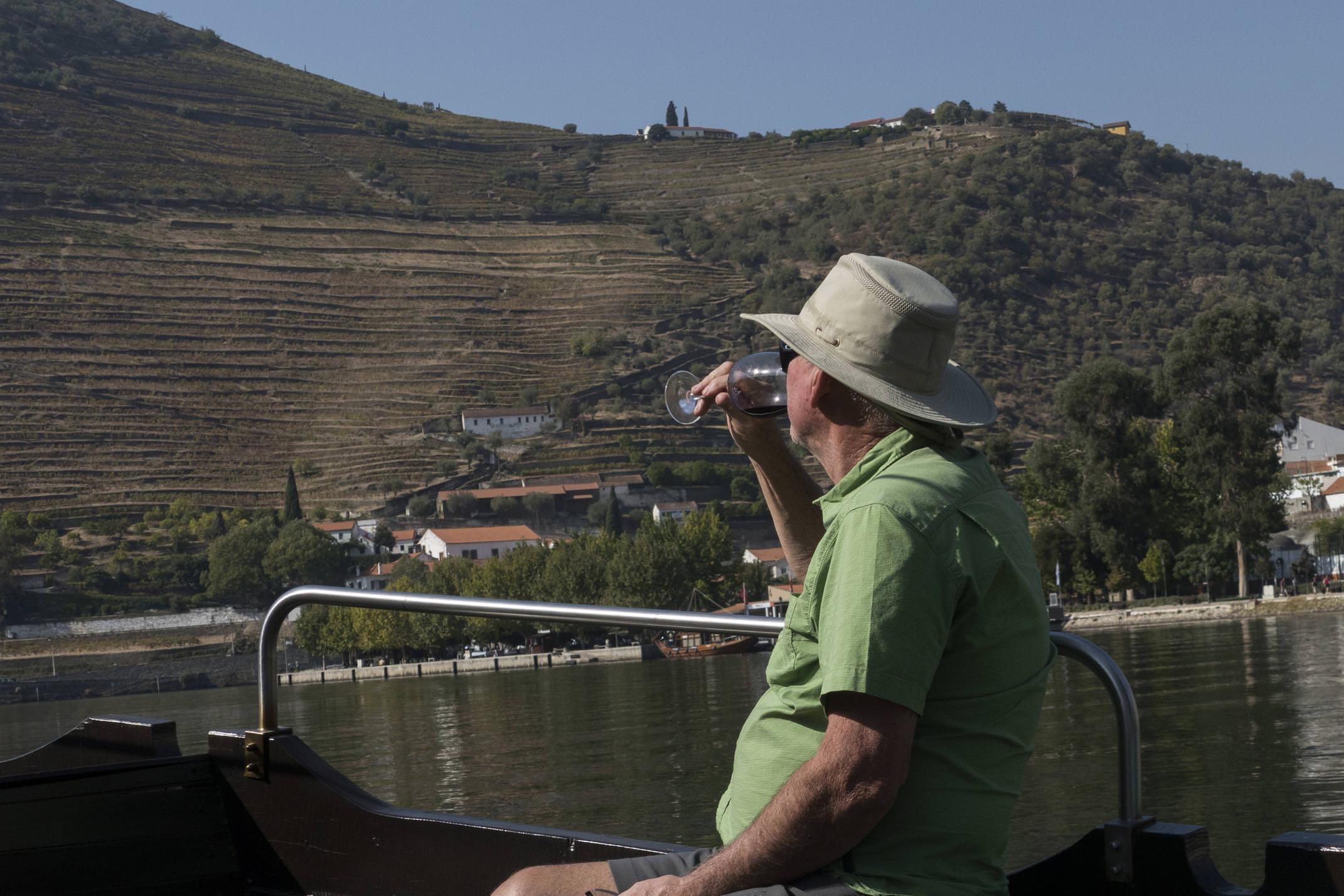 Portugal douro boat ride pinhao