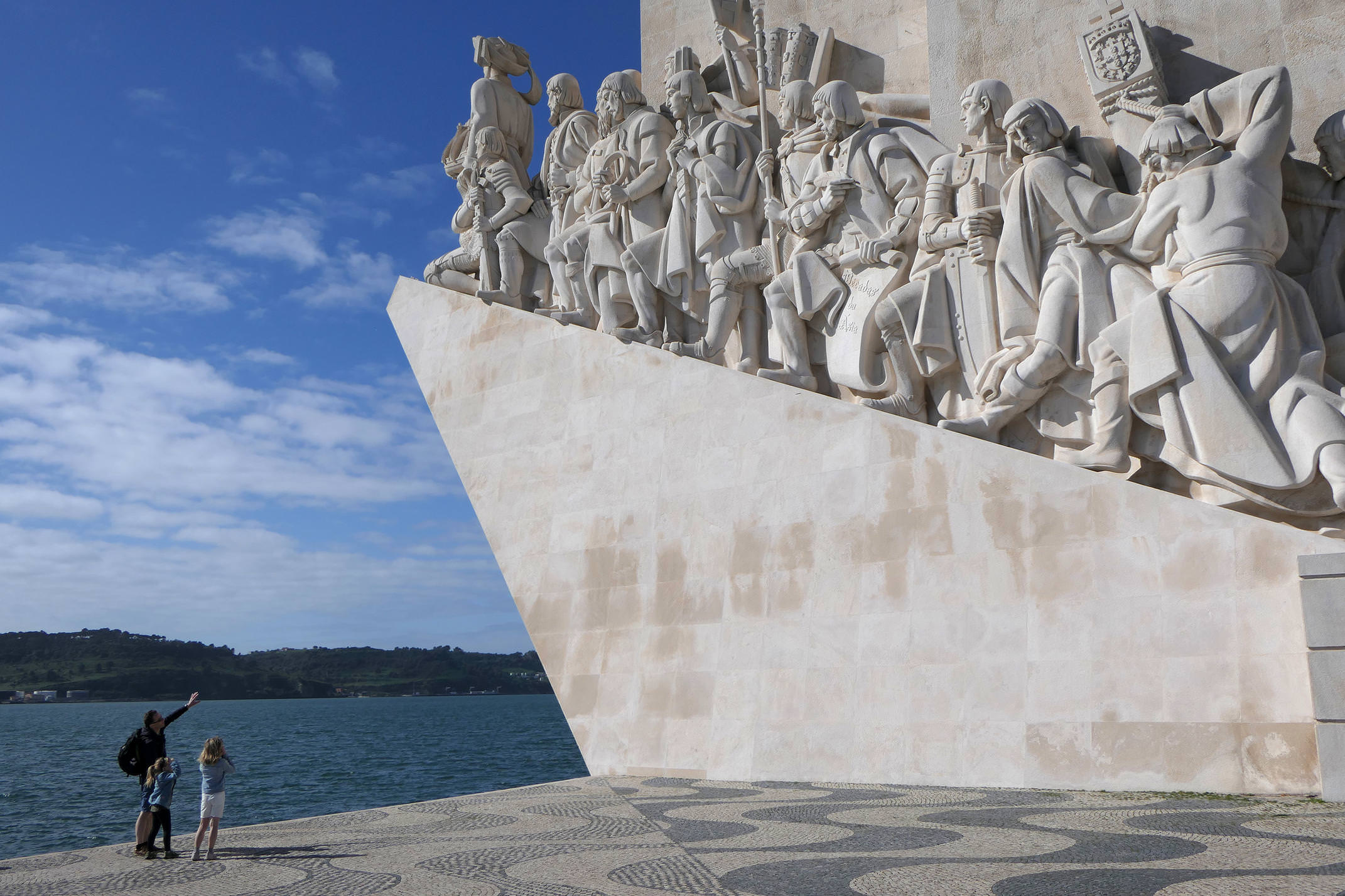 Portugal lisbon belem discoveries monument family c diego