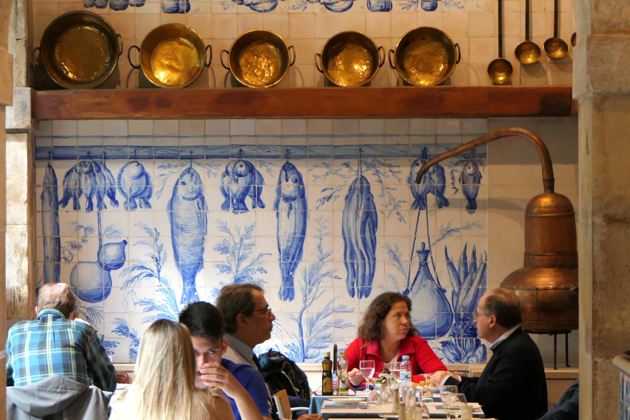 Portugal lisbon tile museum azulejo restaurant c diego
