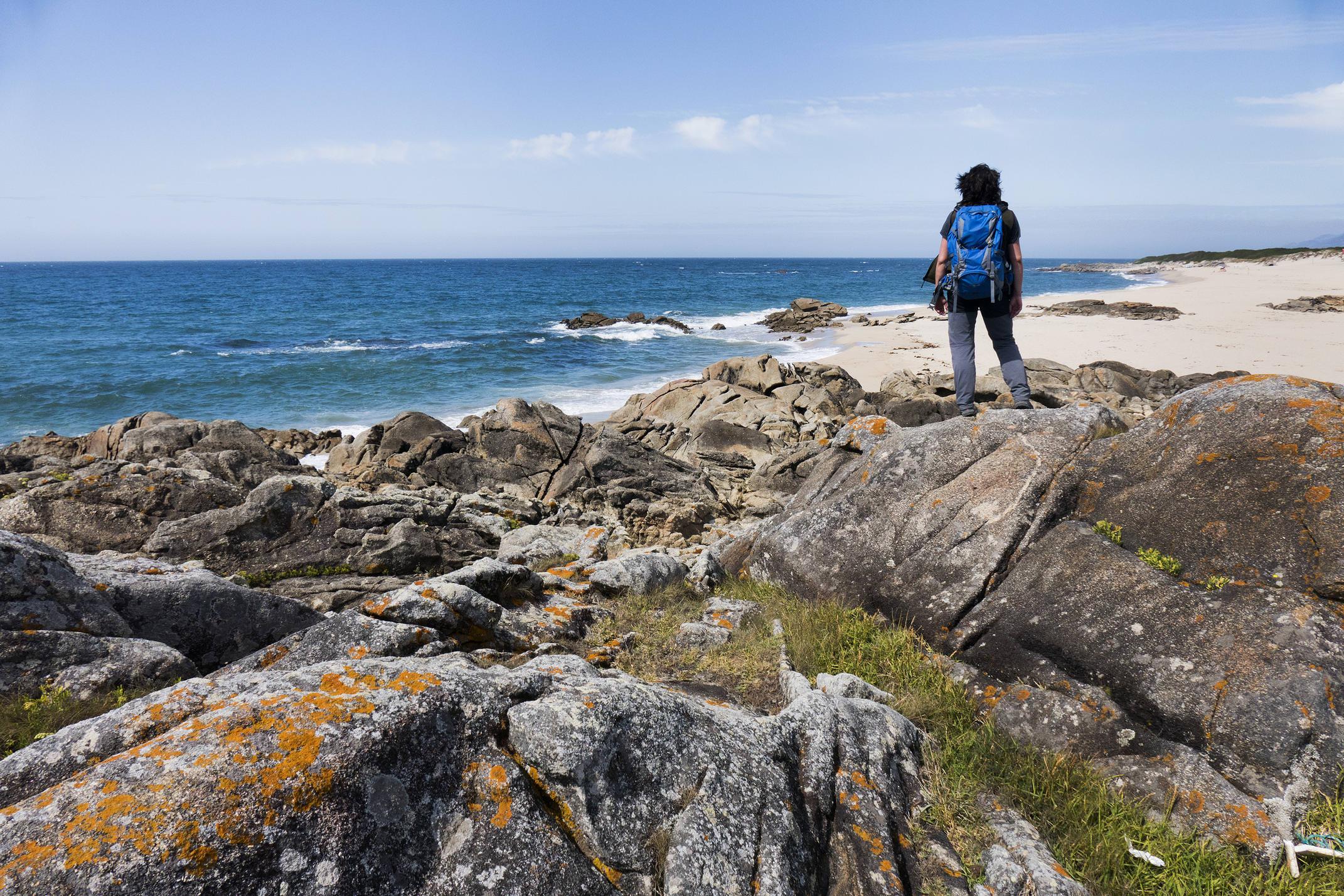 Portugal north minho viana atlantic coast hiking isabel c diego pura
