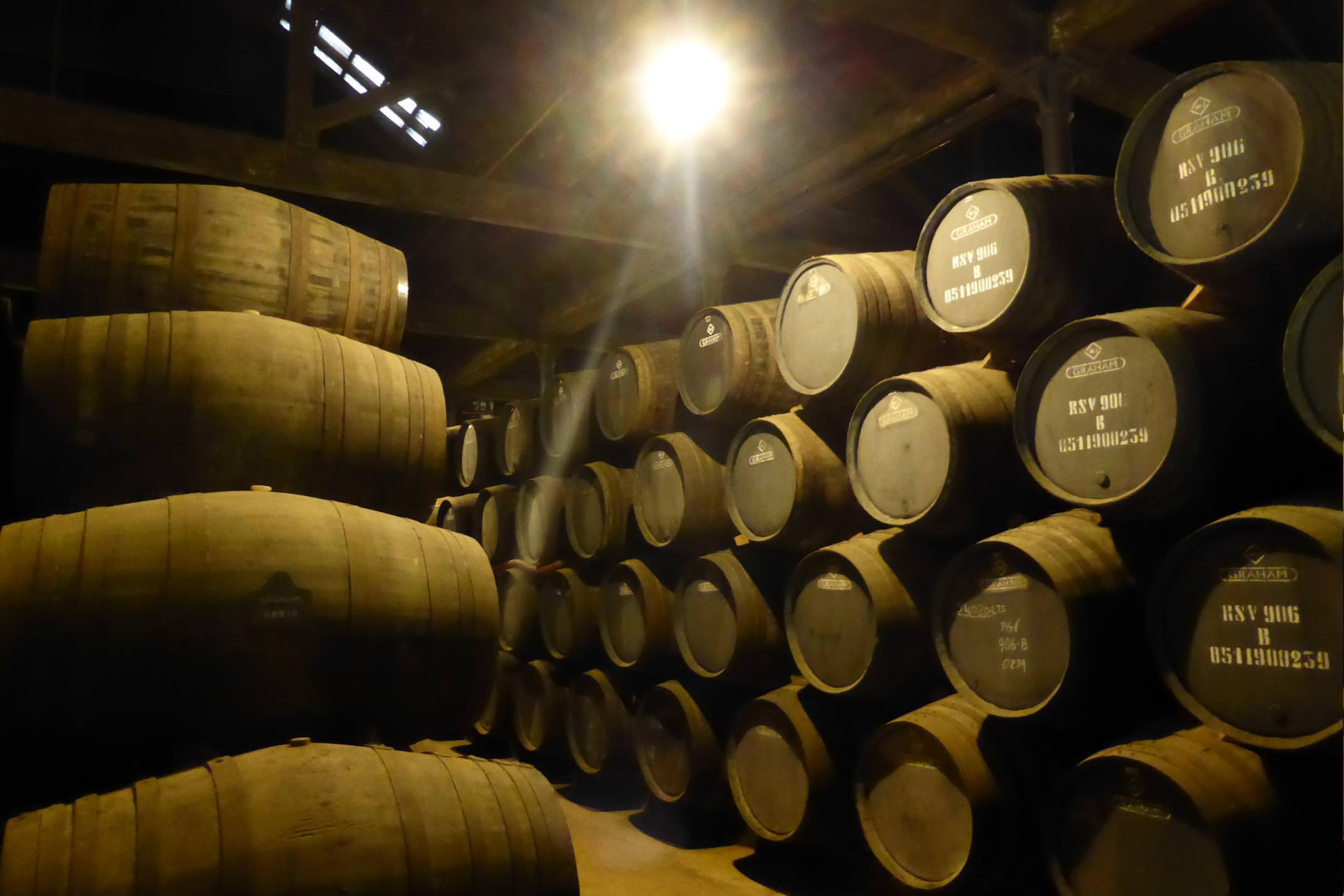 Portugal porto grahams port barrels