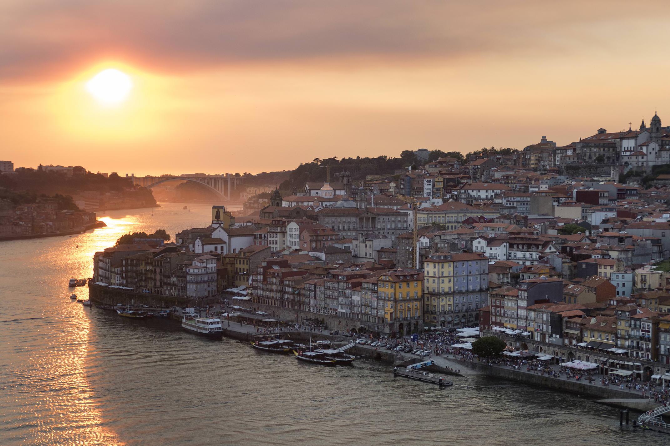 Portugal porto sunset 4