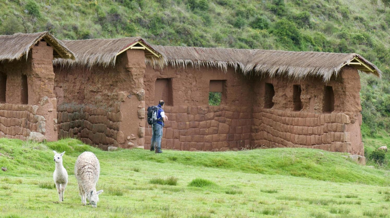 alternative-inca-trail-peru-sacred-valley-huchuyqosco-llama-pepe-house