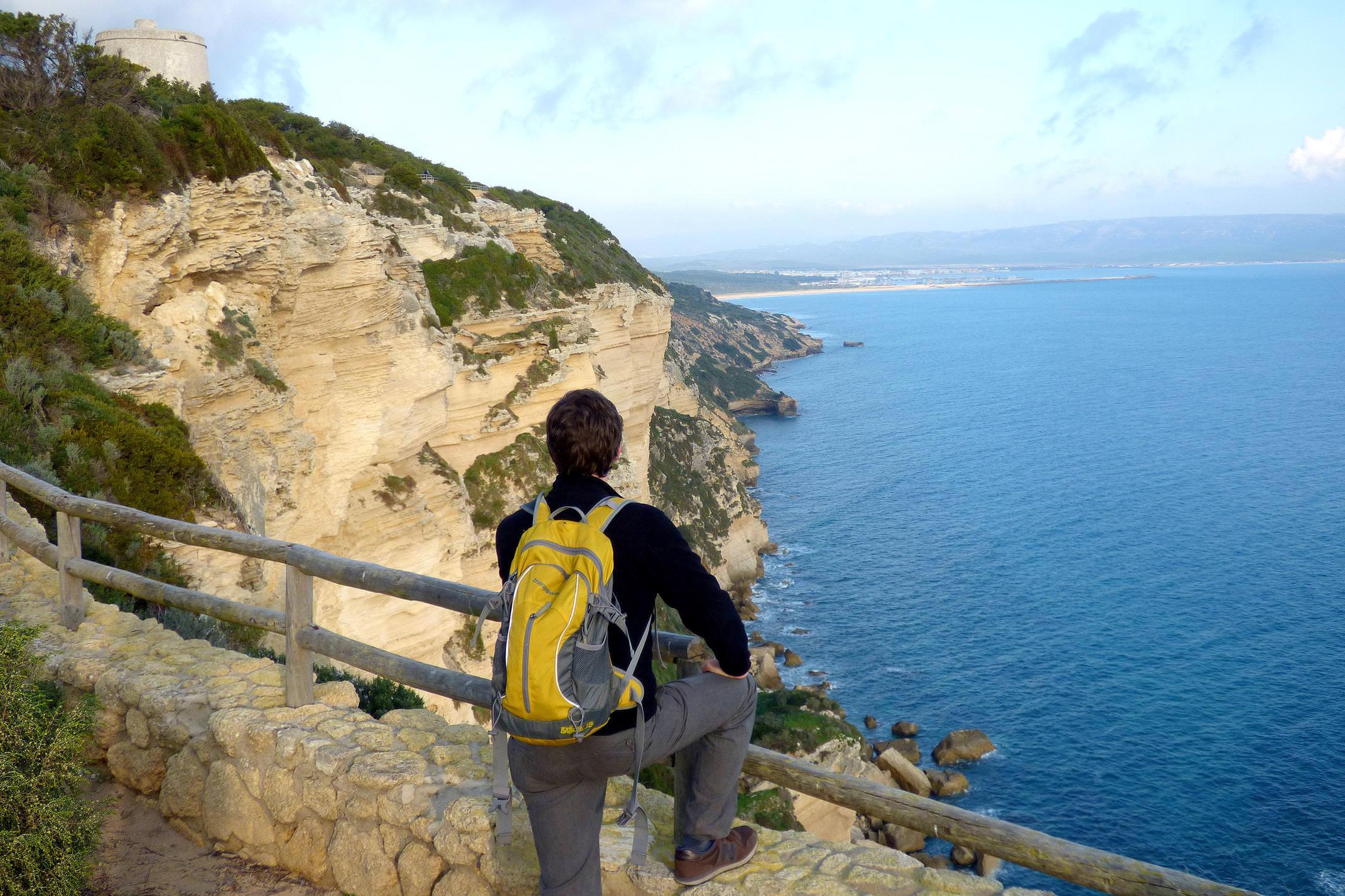 Spain andalucia cadiz barbate coastal walk tower 2
